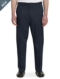 Oak Hill® Flat-Front Premium Stretch Twills