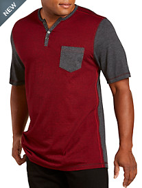 PX Clothing Slub-Knit Henley