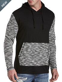 PX Clothing Contrast Colorblock Hoodie
