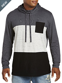 PX Clothing Funnel Colorblock Hoodie