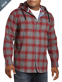 PX Clothing Flannel Hoodie