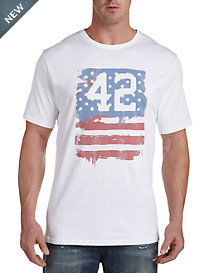 MVP Collections 42 Flag Graphic Tee