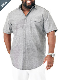 MVP Collections Chambray Sport Shirt