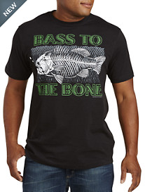 Bass To The Bone Graphic Tee