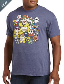 Villian Stack Nintendo Graphic Tee
