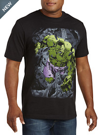 Hulk Break Through Graphic Tee