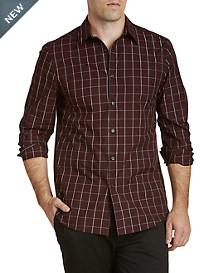 Perry Ellis® Double Lurex® Check Sport Shirt