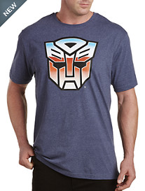 Distressed Transformers Graphic Tee