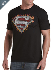 Superman Iron Fire Graphic Tee