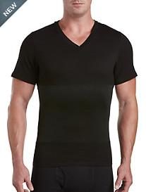 Harbor Bay® Shapewear V-Neck T-Shirt