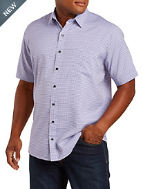 Harbor Bay® Plaid Microfiber Sport Shirt