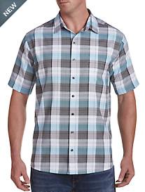 Synrgy™ Plaid Microfiber Sport Shirt
