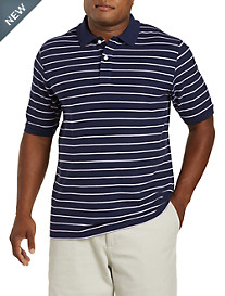Harbor Bay® 3-Stripe Polo