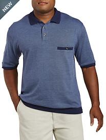 Harbor Bay® Diamond-Patterned Banded Bottom Shirt