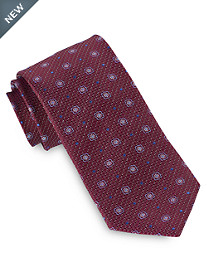 Geoffery Beene® Small Floral Medallion Tie