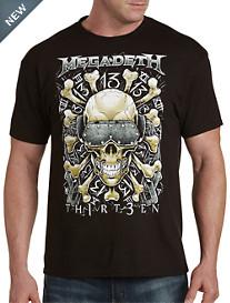 Megadeth Red Bones Graphic Tee