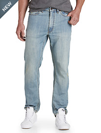 True Nation® Vintage Washed Athletic-Fit Jeans