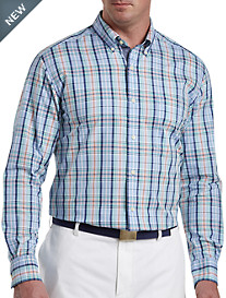 Nautica® Coastal Sky Plaid Sport Shirt