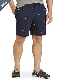 Nautica® Flag-Print Shorts