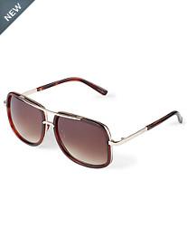 True Nation® Square Tortoise Sunglasses