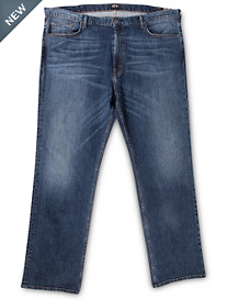 MVP Collections Vaughn Relaxed Straight Stretch Jeans