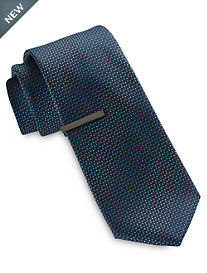 Gold Series Mini Ombré Dot Tie with Tie Bar