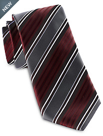 Synrgy™ Wide Textured Stripe Tie