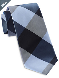 Synrgy™ Large Block Plaid Tie