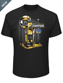 NBA Champions 2017 Golden State Warriors Tee