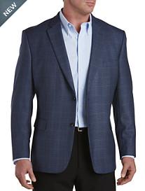 Jean Paul Germain Windowpane Check Sport Coat