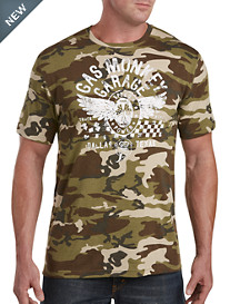 Gas Monkey Garage Racing Camo Graphic Tee