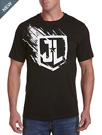 Justice League Logo Graphic Tee
