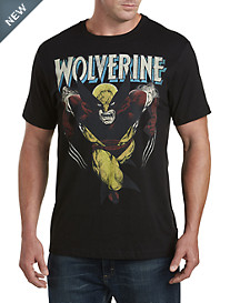 Retro Wolverine Charge Graphic Tee