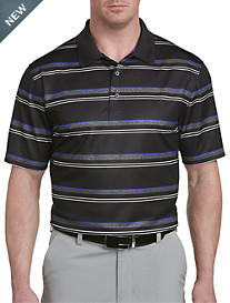 Reebok Speedwick Heather Stripe Polo