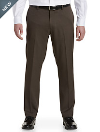 Gold Series Sorbtek Perfect Fit Waist-Relaxer® Flat-Front Finished Dress Pants