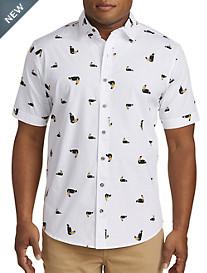 True Nation® Tucan Print Sport Shirt