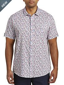 True Nation® Floral Print Sport Shirt