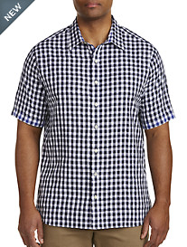 Synrgy™ Contrast Square Small Plaid Sport Shirt