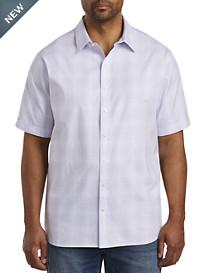 Synrgy™ Square Tonal Plaid Sport Shirt