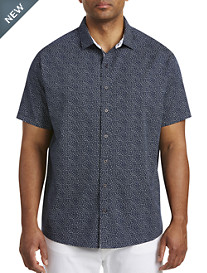 Synrgy™ Mini Floral Print Sport Shirt