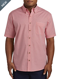 Harbor Bay® Easy-Care Gingham Sport Shirt