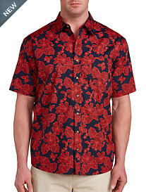 Harbor Bay® Floral Print Sport Shirt
