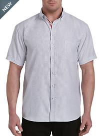 Synrgy™ Diamond Print Microfiber Sport Shirt
