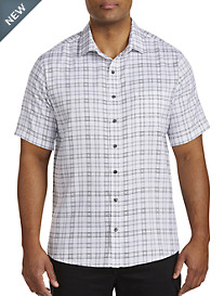 Synrgy™ Medium Plaid Microfiber Sport Shirt