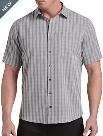 Harbor Bay® Stripe Mircrofiber Sport Shirt