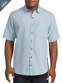 Harbor Bay® Stripe Microfiber Sport Shirt