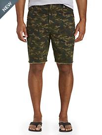 True Nation® 5-Pocket Army Twill Shorts
