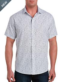 Synrgy™ Sketchy Floral Print Sport Shirt