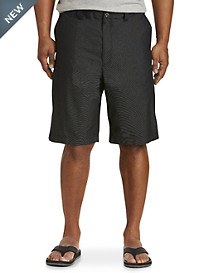 True Nation® Tonal Stripe Hidden Cargo Shorts