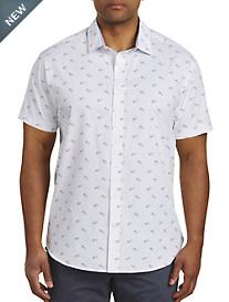 Twenty-Eight Degrees Sunglasses Print Sport Shirt